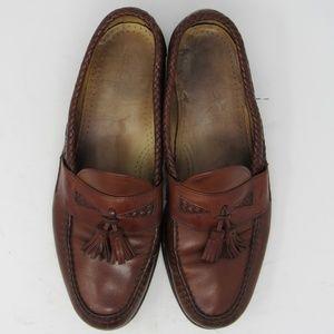 🇺🇸 Allen Edmonds Maxfield tassel loafer sz 12D